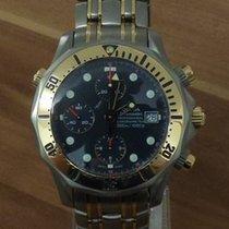 Omega Titane Remontage automatique Bleu Sans chiffres 43mm occasion Seamaster Diver 300 M