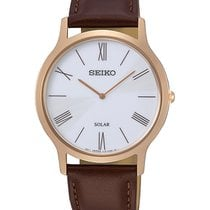 Seiko Gold/Steel 38mm SUP854P1 new