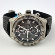 TAG Heuer Carrera Calibre HEUER 01 Titanium 43mm Grey No numerals