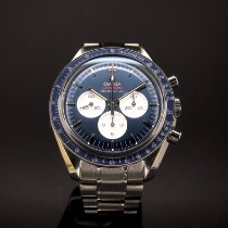 Omega Speedmaster Steel 42mm Blue Finland, Helsinki