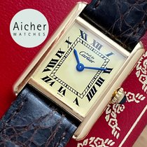 Cartier Tank Louis Cartier Or jaune 20mm Romain