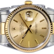 Rolex Gold/Steel 36,00mm Automatic 16233 pre-owned
