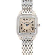Cartier Platinum Manual winding Roman numerals 25mm pre-owned Santos (submodel)