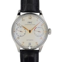 萬國 (IWC) IW500114 Portuguese7days Power Reserve Yellow Arabic  SS