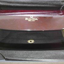 Bulova wooden watch box big size with lock