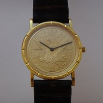 Corum Coin Watch Gelbgold 33mm Gold (massiv)