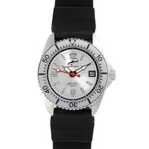 Chris Benz One Lady CBL-SI-SI-KB Elegante Damenuhr Taucheruhr