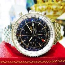 Breitling Navitimer A24322 Black World Chronograph Automatic...