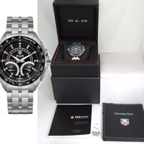TAG Heuer Mercedes Benz Slr Calibre S Black Dial Stainless...
