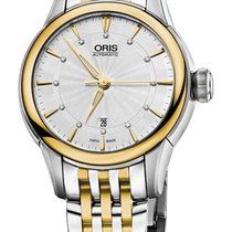 Oris Artelier Date Gold/Steel 31mm Silver United States of America, New York, Airmont