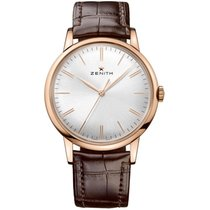 Zenith Elite 6150 Rose gold 42mm Silver United States of America, Pennsylvania, Holland