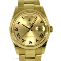 Rolex Day-Date 36mm Yellow Gold Oyster Bracelet