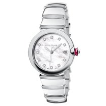 Bulgari Lucea Steel 36mm Mother of pearl