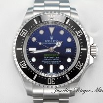 Rolex Sea Dweller Deepsea D-Blue  Stahl 116660 AUTOMATIK 2017