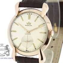 Marvin Hermetic 18 Karat Rose Gold Vintage Watch Cal. 520...