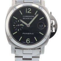 Panerai Marina PAM 050 Watch with Stainless Steel Bracelet and...