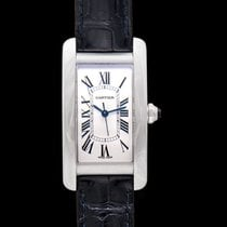 Cartier Tank Américaine new Automatic Watch with original box and original papers WSTA0017