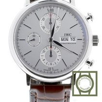 IWC Portofino Chronograph Steel 42mm White