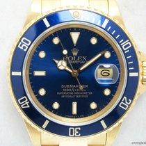 Rolex Professionali Submariner Date 16808 quadrante blu full set