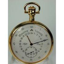 Maurice Lacroix Horloge tweedehands 1980 53mm Arabisch Handopwind Alleen het horloge