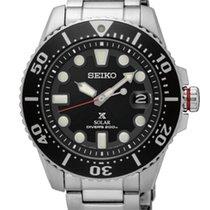 Seiko Prospex SNE437P1 SEIKO PROSPEX  Solare Diver 200 Acciaio 43,50mm new
