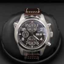 IWC Pilot Double Chronograph Steel 44mm Brown United States of America, California, Huntington Beach