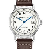 Hamilton H78215553 Steel 2020 Khaki Navy Pioneer 36mm new