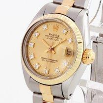 Rolex Oyster Perpetual Datejust Lady mit orig.Diamantblatt...