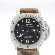 Panerai Luminor Submersible occasion 44mm Acier