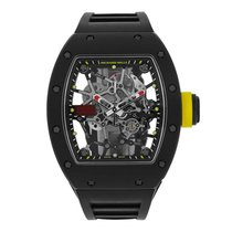 Richard Mille Koolstof 48mm Handopwind RM035 tweedehands
