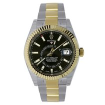 Rolex 326933 Gold/Steel Sky-Dweller 42mm