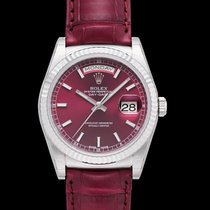 Rolex Day-Date 36 nuevo Automático Reloj con estuche y documentos originales 118139