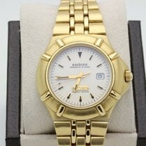 Krieger Yellow gold 40mm Quartz K929 pre-owned