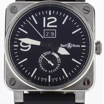 Bell & Ross BR 03-90 Grande Date et Reserve de Marche Steel 42mm Black United States of America, Illinois, BUFFALO GROVE