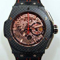 Hublot Big Bang Ferrari Carbono 45mm Transparente Árabes España, Madrid