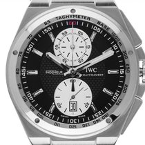 IWC Big Ingenieur Chronograph Сталь 45.5mm Чёрный