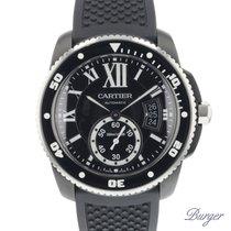 Cartier Calibre Diver Black Steel