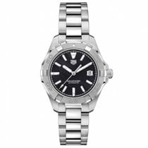 TAG Heuer Aquaracer Lady Steel 32mm Black No numerals
