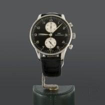 IWC Portuguese Chronograph Acero 41mm Negro Árabes España, Madrid