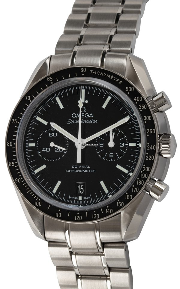 Omega : Speedmaster Moonwatch Co-Axial Chronograph : 311 30 44 51 01 002 :  Stainless Steel