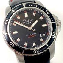 Glashütte Original Sport Evolution Panorama Date Steel 42mm Black No numerals