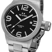 TW Steel Steel 50mm Automatic CB6 new