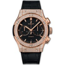 Hublot Classic Fusion Chronograph Rose gold 45mm Black United Kingdom, London