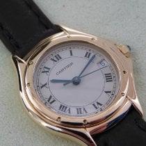 Cartier Cougar Gelbgold 27mm Weiß Römisch Deutschland, Buxtehude