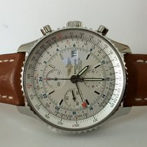 Breitling Navitimer World Chronograph Steel Beige Dial 46 mm...