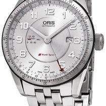 Oris Steel Automatic Silver new Audi Sport