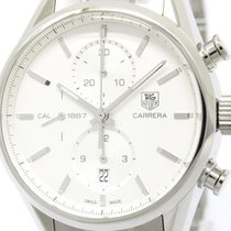TAG Heuer Carerra Calibre 1887 Steel Automatic Watch Car2111...