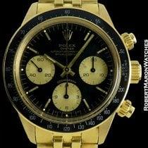 Rolex Daytona 6263 Unpolished 18k Black Sigma Dial