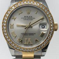 Rolex Lady-Datejust 31 mm Bicolor Diamant Lünette - LC100
