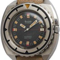 Bulova Snorkel Diver's Stainless Steel circa 1970